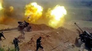 artiglieria siriana